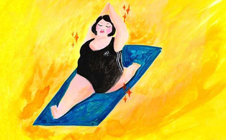 yoga illustration estudio
