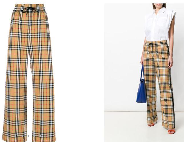 Pantalon A Cuadros De Burberry Archivos El Zocco