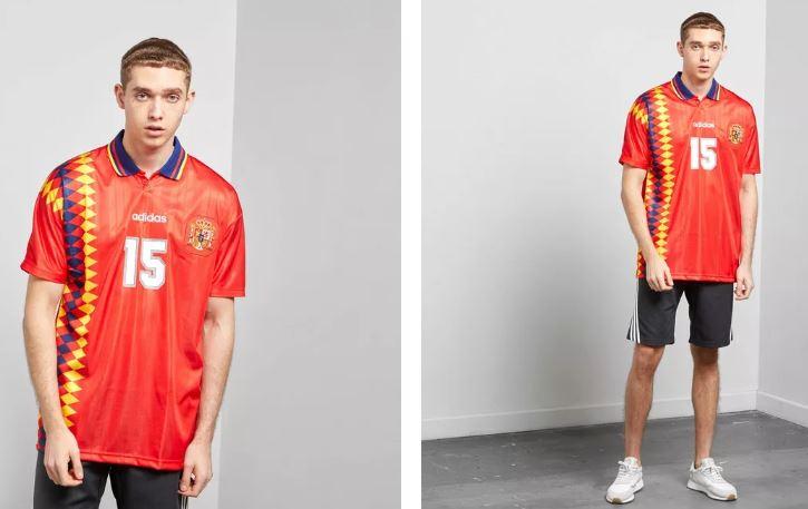 camisetas retro de fútbol adidas