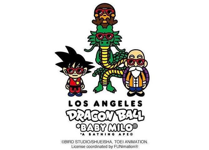 Dragon Ball x BAPE 2018