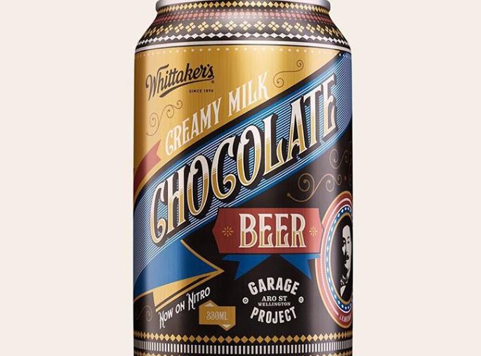 cerveza con chocolate