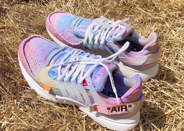 Off-White x Nike Air Presto Tie-Dyed