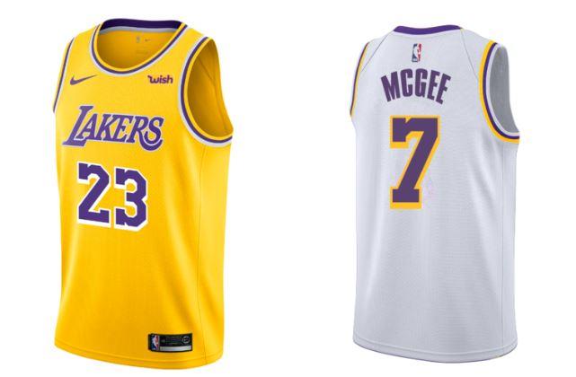 nuevas camisetas de Los Angeles Lakers