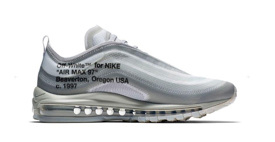 Off White x Nike Air Max 97 Menta