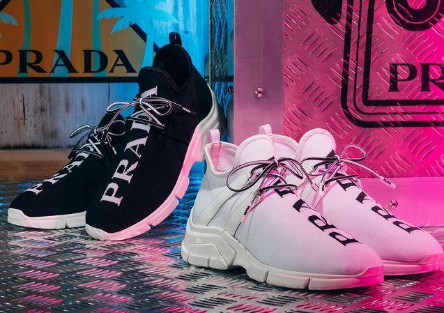 zapatillas de Prada
