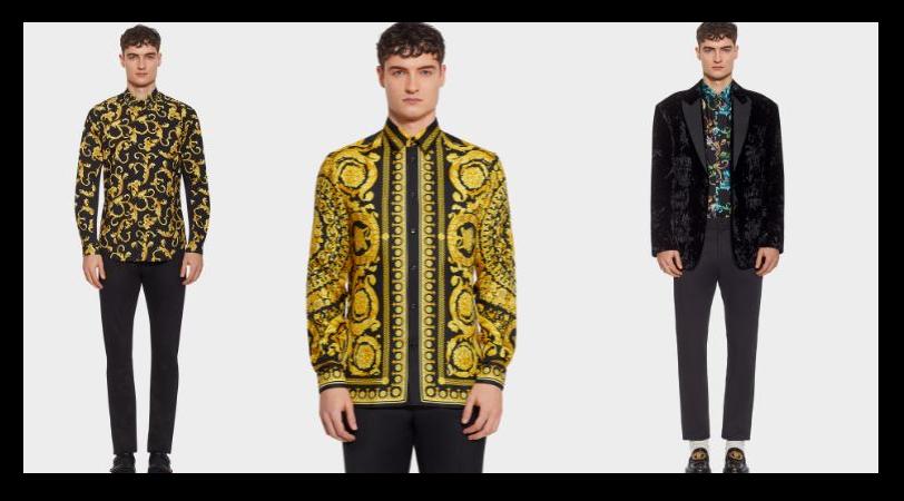 réplica de la camisa Versace 2