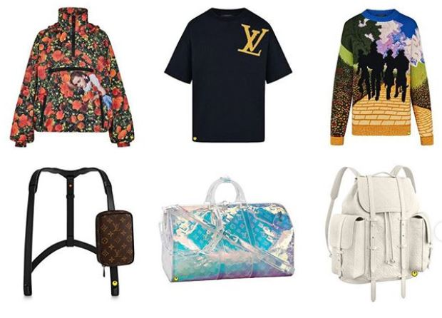 Virgil Abloh Louis Vuitton Collection