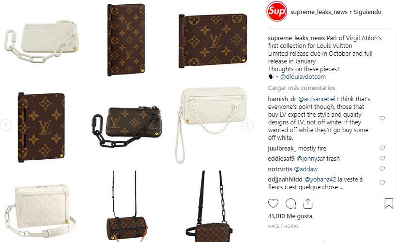 Virgil Abloh Louis Vuitton Collection