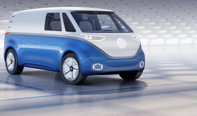 microbus eléctrico Volkswagen