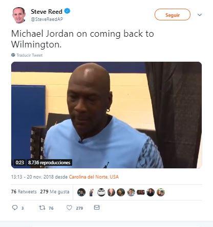 donaciones de Michael Jordan