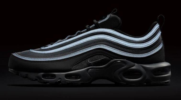 air max 97 negro