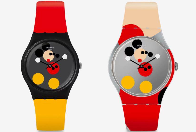 reloj de Mickey Mouse