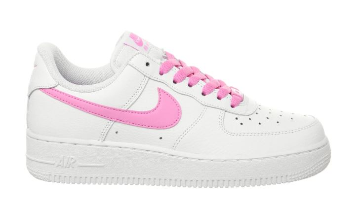 jordan air force 1 rosas y blancas