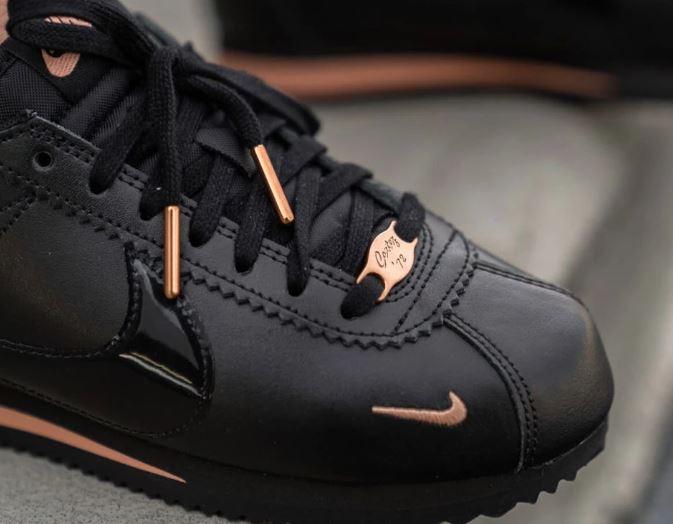 Las Classic Cortez de Nike llegan en negro y rosa El Zocco