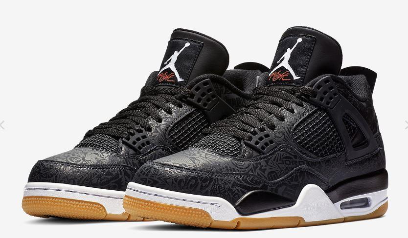 Air Jordan 4 Black Laser