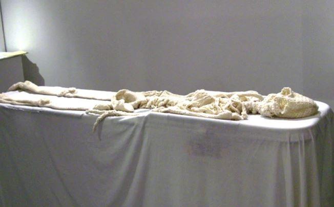 esqueleto de ganchillo