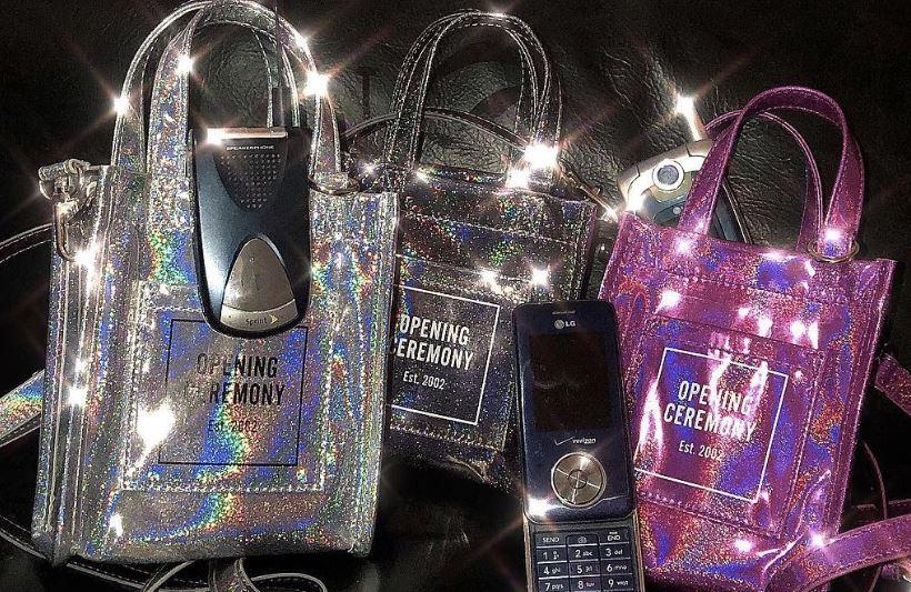 bolsos brillantes