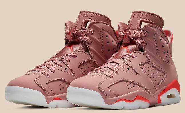 Air Jordan 6 Rust Pink