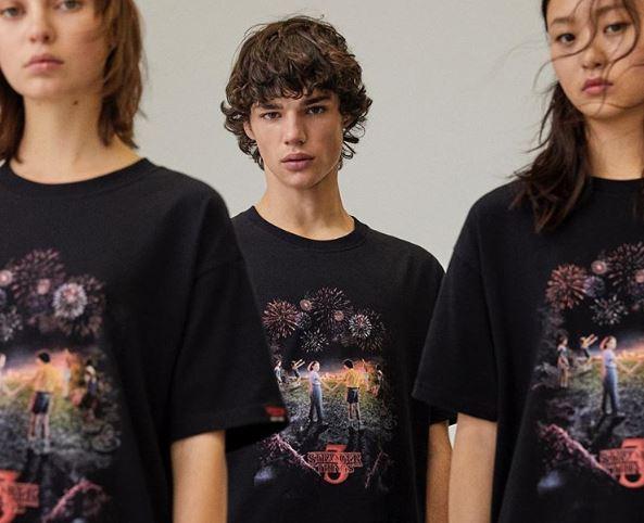 camiseta de Stranger Things