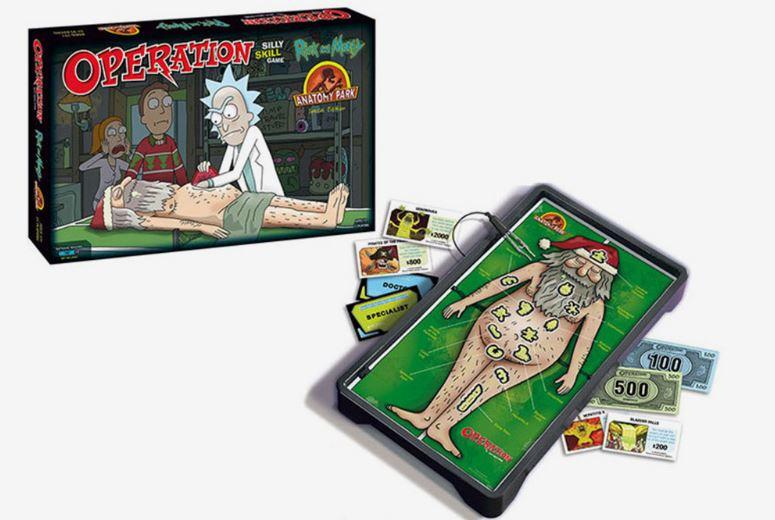 juego de mesa Rick and Morty