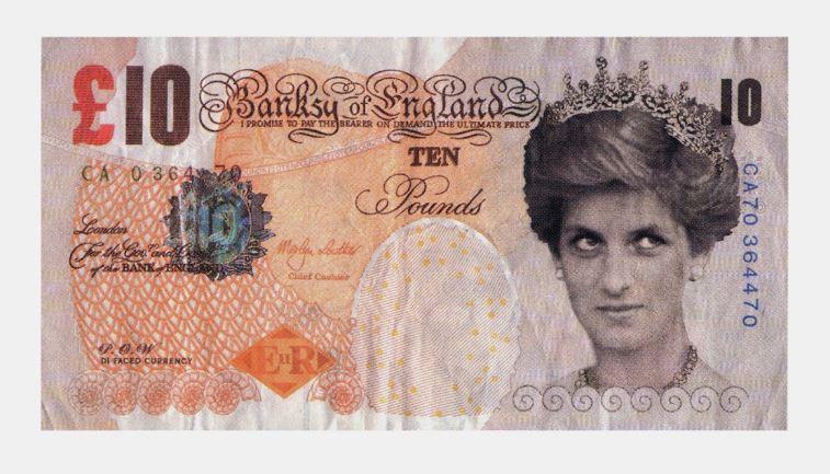 obra de billetes falsos