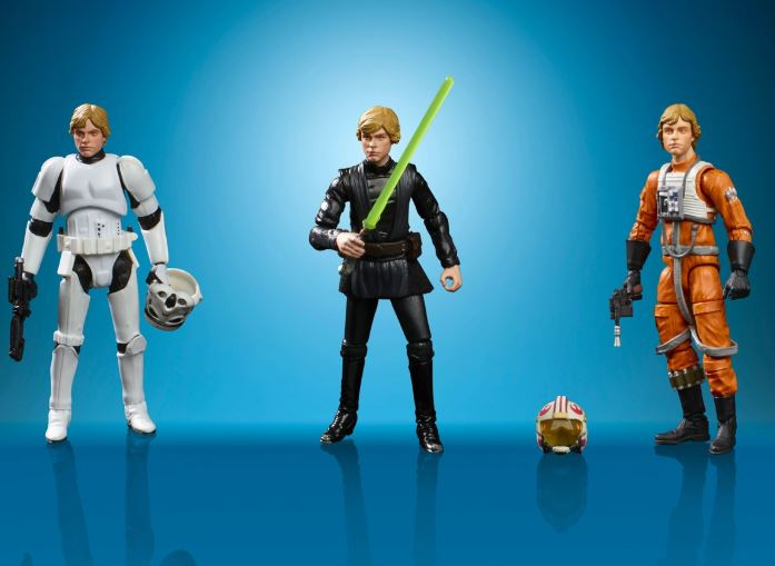 figuras retro de Star Wars