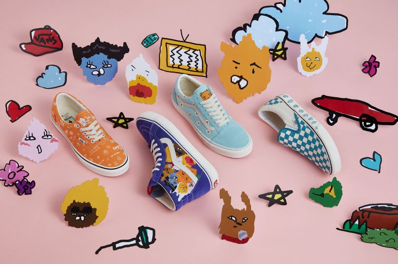 kakao friends x vans