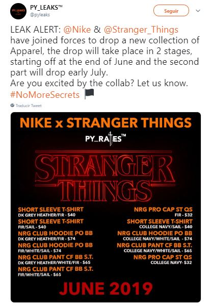 Nike x Stranger Things