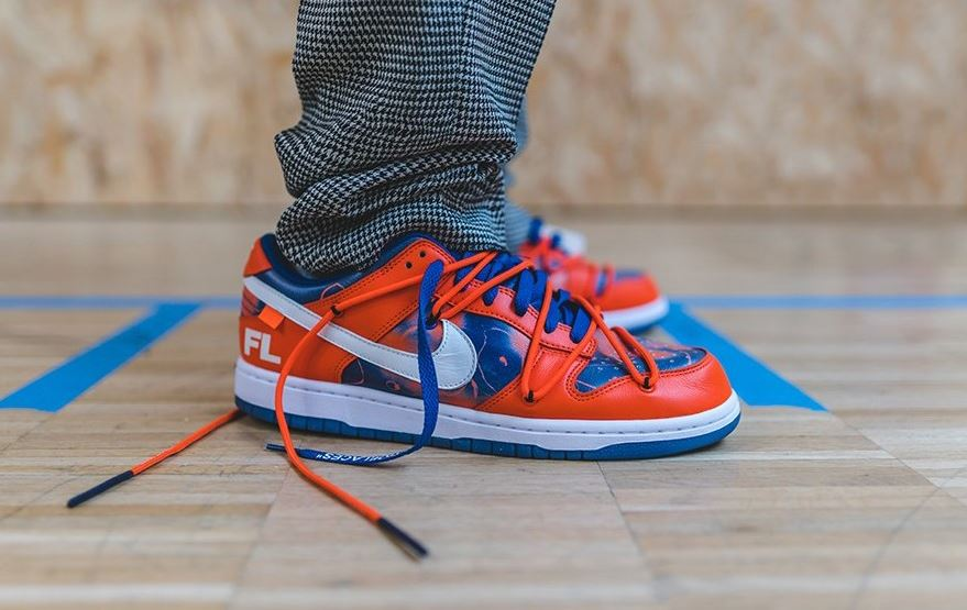 Off White x Nike SB Dunk Low