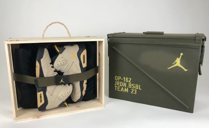 edición especial de las Air Jordan 6