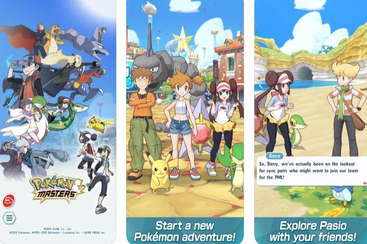 preinscripcion para pokemon masters
