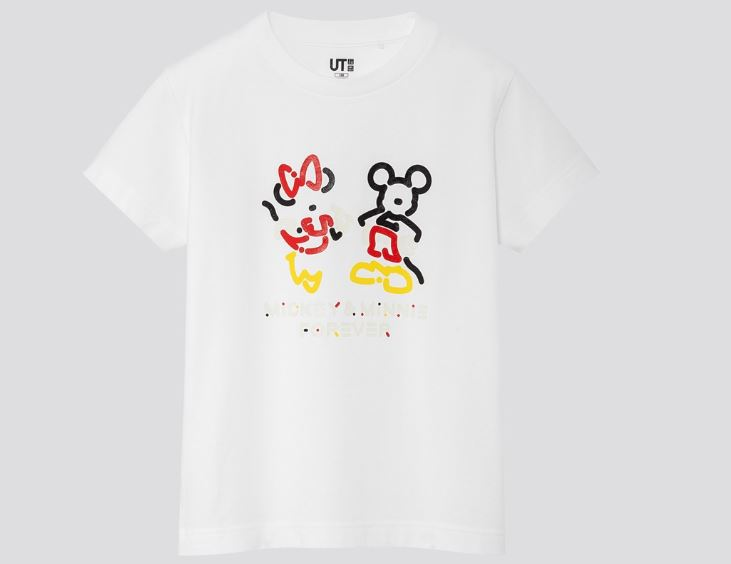 mickey y minnie mouse de UNIQLO