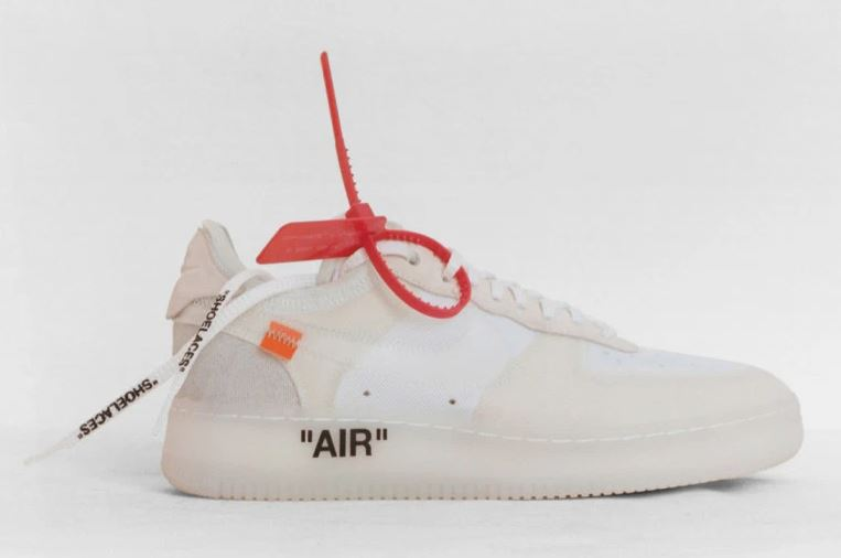 brida roja de off white
