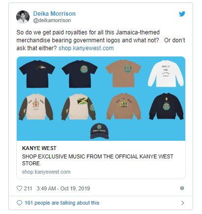 merch de Kanye West