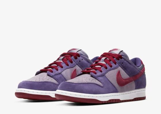 nike dunk low plum