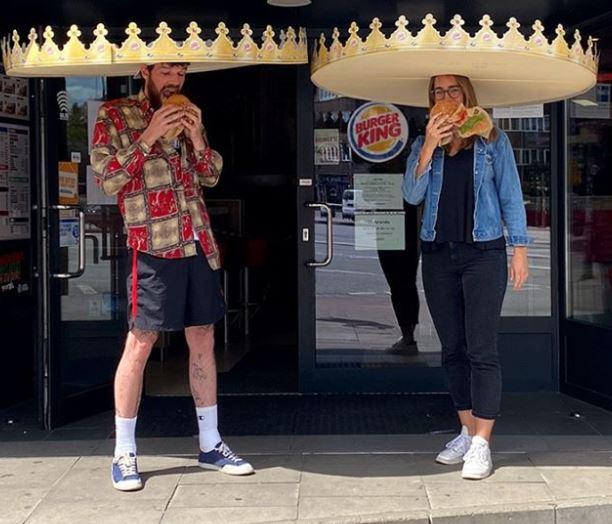 burger king reparte coronas gigantes