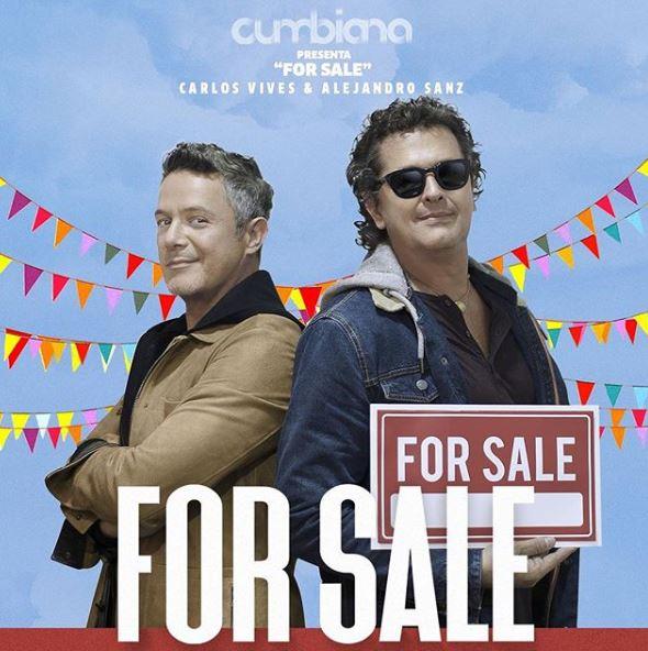 For Sale de Carlos Vives y Alejandro Sanz