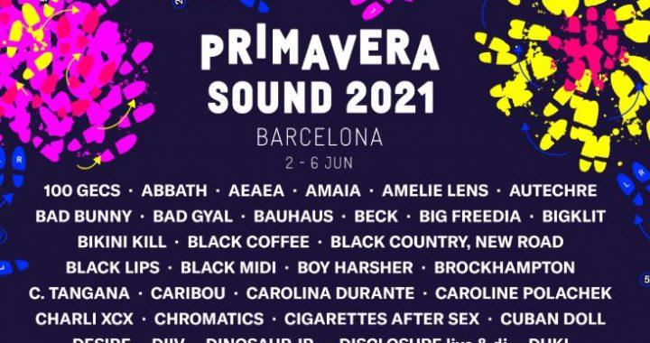 primavera sound barcelona 2021 cartel
