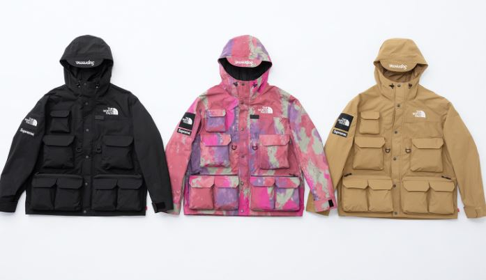 supreme x the north face rtg 2020