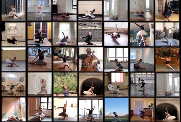 vídeo de bailarinas profesionales