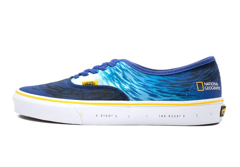 deportivas vans x national geographic