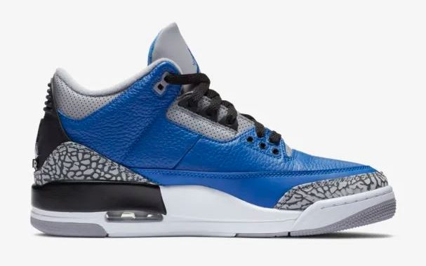 air jordan 3 blue cement