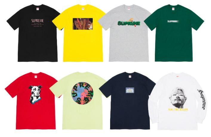 camisetas supreme verano 2020