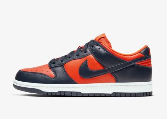 dunk low champ colors