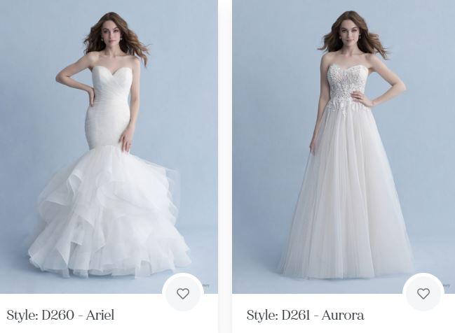 vestidos de novia inspirados en princesas