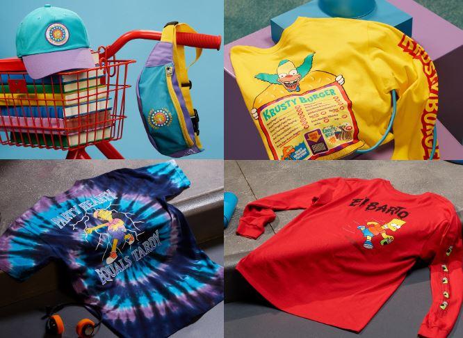 the simpsons x vans ropa y accesorios