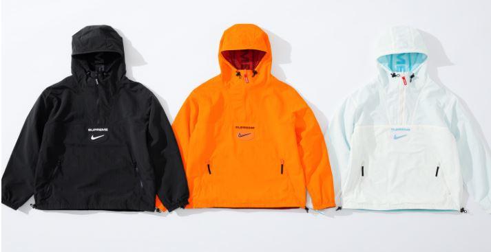nike x supreme fw chaquetas