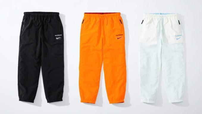 nike x supreme fw pantalones