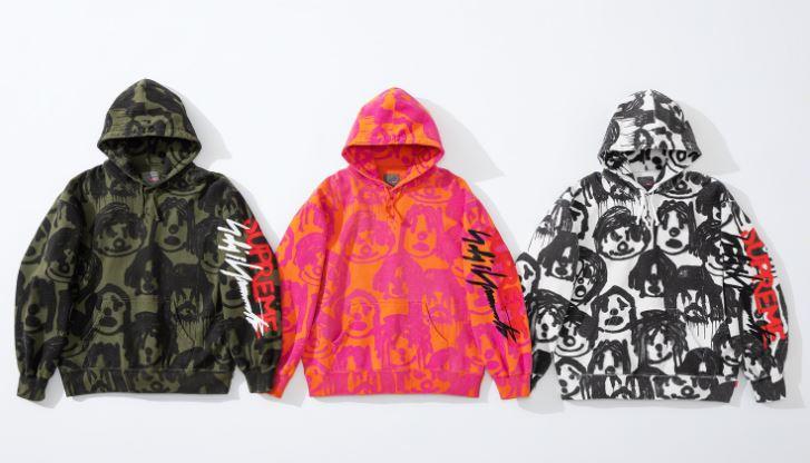 supreme x yohji yamamoto sudaderas con capucha