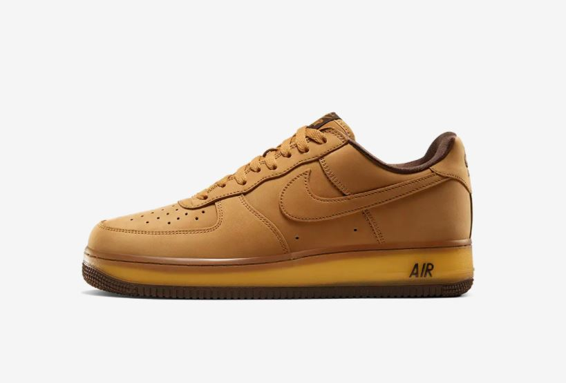 air force 1 wheat mocha